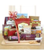Classic Snack Cheese Board Gift Basket