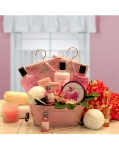 Pretty in Pink Relaxation Gift Set Gift Basket