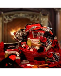 Naughty Valentine Nights - Valentine's Day Gift Baskets by Gift Baskets Plus