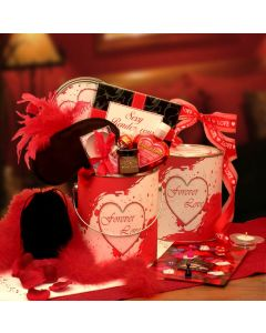 Romantic 'Forever Love' Valentines Gift Pail