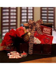 Private Pleasures Valentine's Experience - Valentine's Day Gift Baskets by Gift Baskets Plus