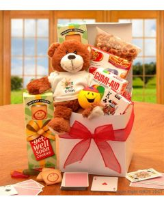 A Touch of Get Well Soon Sunshine Care Package Gift Basket