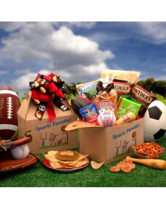The Sports Fanatic Care Package Gift Basket