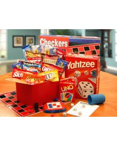 Its Game Time' Boredom & Stress Relief Gift Set Gift Basket