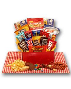 All American Favorites Snack Care Package Gift Basket