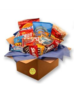 Smackdown Deluxe Snacks Care Package Gift Basket