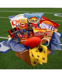 Touchdown Game Time Snacks Care Pakage Gift Basket
