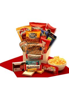 Study Snacks Care Package Gift Basket