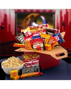 Movie Night Care Package Gift Basket