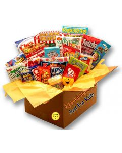 Kids Blast Deluxe Activity Care Package Gift Basket