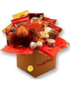 Tough Guy's Snack Care Package Gift Basket
